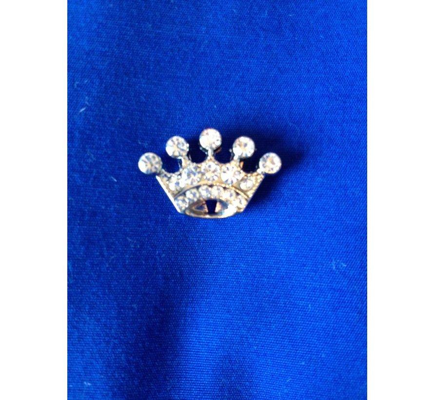 Kroontje decoratie voor halsband en riem met naam