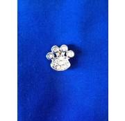 Doxtasy Pootje decoratie voor halsband en riem met naam