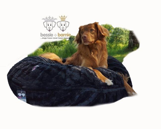 Hondenmand Bagel Black Puma