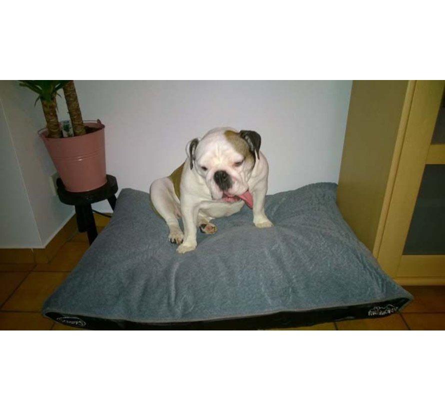 Orthopedic Dog Cushion Cushion Memory Foam Plush Dove