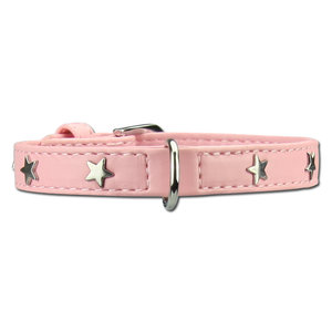 Doxtasy Dog Collar Twinkle Little Star Pink