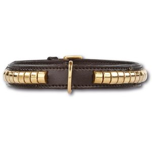 Doxtasy Hondenhalsband Gold Row Black