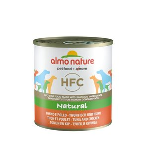 Almo Nature Dog Food HFC Tuna and Chicken 12 x 290 gr