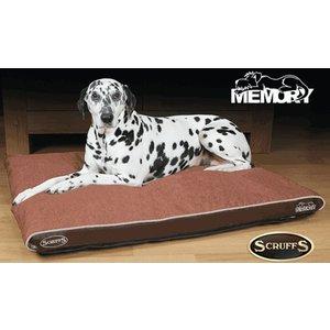 Scruffs Dog Cushion Hilton Chocolate