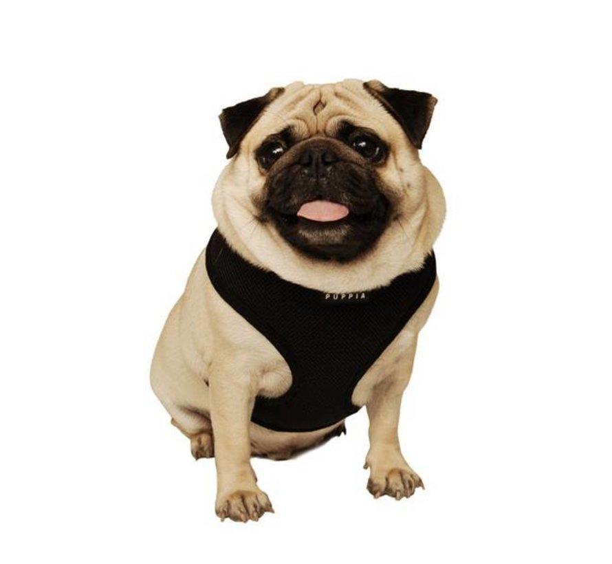 Hondentuig Soft Harness Zwart