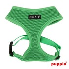 Puppia Soft DogHarness Green