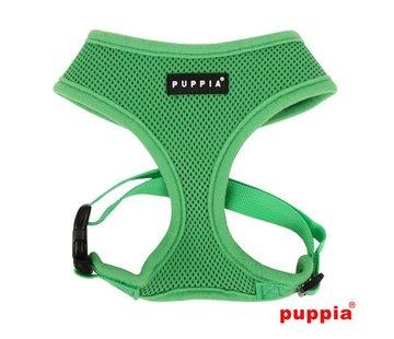 Puppia Hondentuig Soft Harness Groen