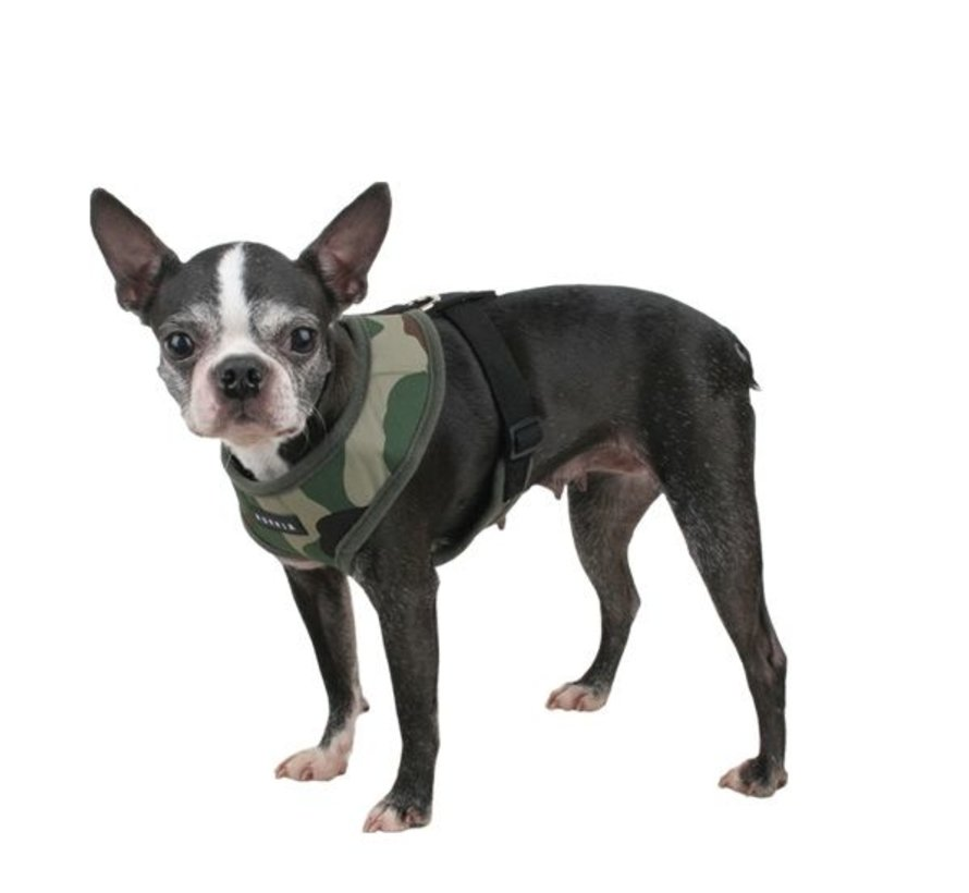 Hondentuig Soft Harness Camouflage