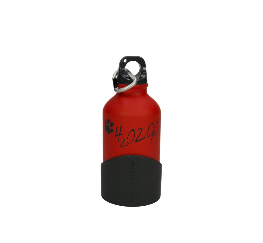 H2O2GO Waterfles Rood