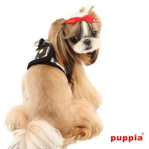Puppia Junior Dog Harness Black