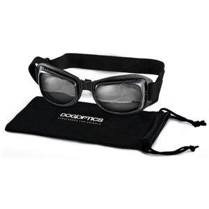Dogoptics Biker Dog Sunglasses Black Frame