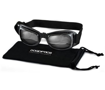 Dogoptics Biker Dog Sunglasses Black Frame