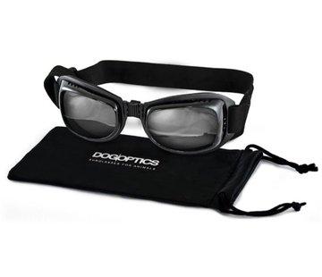 Dogoptics Hondenzonnebril Biker Black Frame