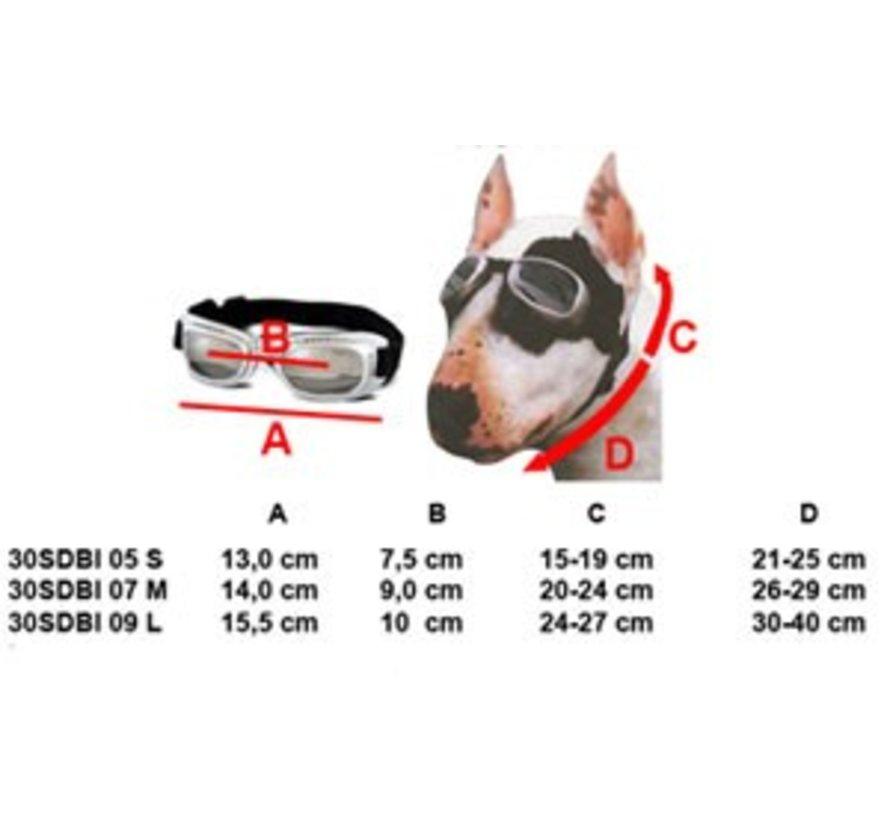 Dog Sunglasses Biker Brown frame/Brown lens