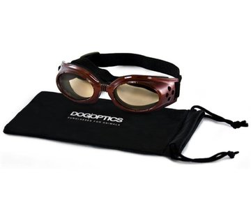 Dogoptics Dog Sunglasses Biker Brown frame/Brown lens