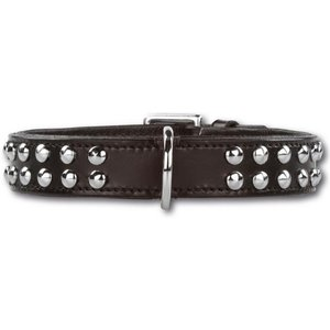 Doxtasy Dog Collar Stunning Studs Black
