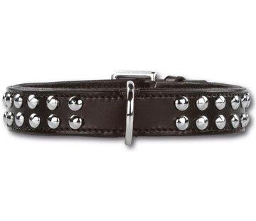 Doxtasy Hondenhalsband Stunning Studs Black