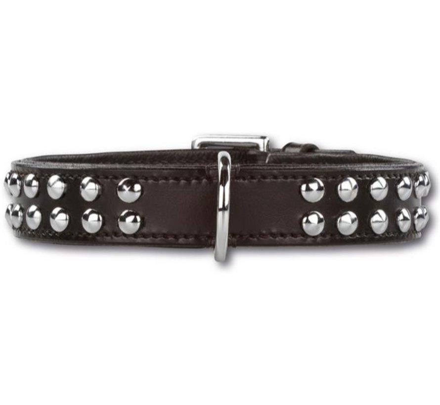 Dog Collar Stunning Studs Black