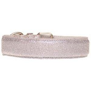 Doxtasy Dog Collar Glitter Silver