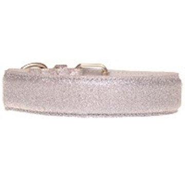 Doxtasy Hondenhalsband Glitter Silver