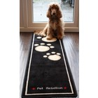 Pet Rebellion Barrier Rug Dog Runner Black