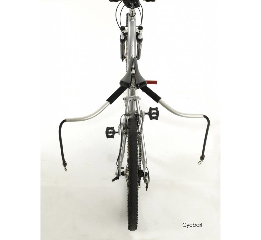 Fiets extra aanlijnset voor Cycleash
