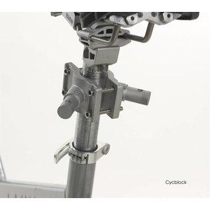 Petego Fiets extra montageklem Cycblock voor Cycleash