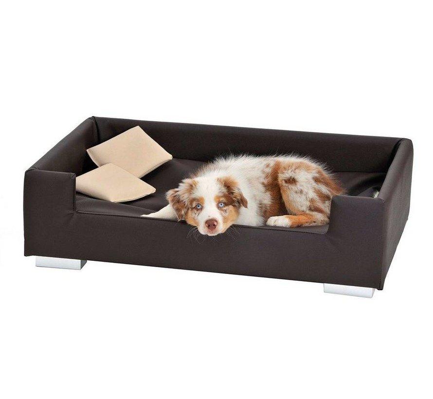 Dog Sofa Candy Dark brown