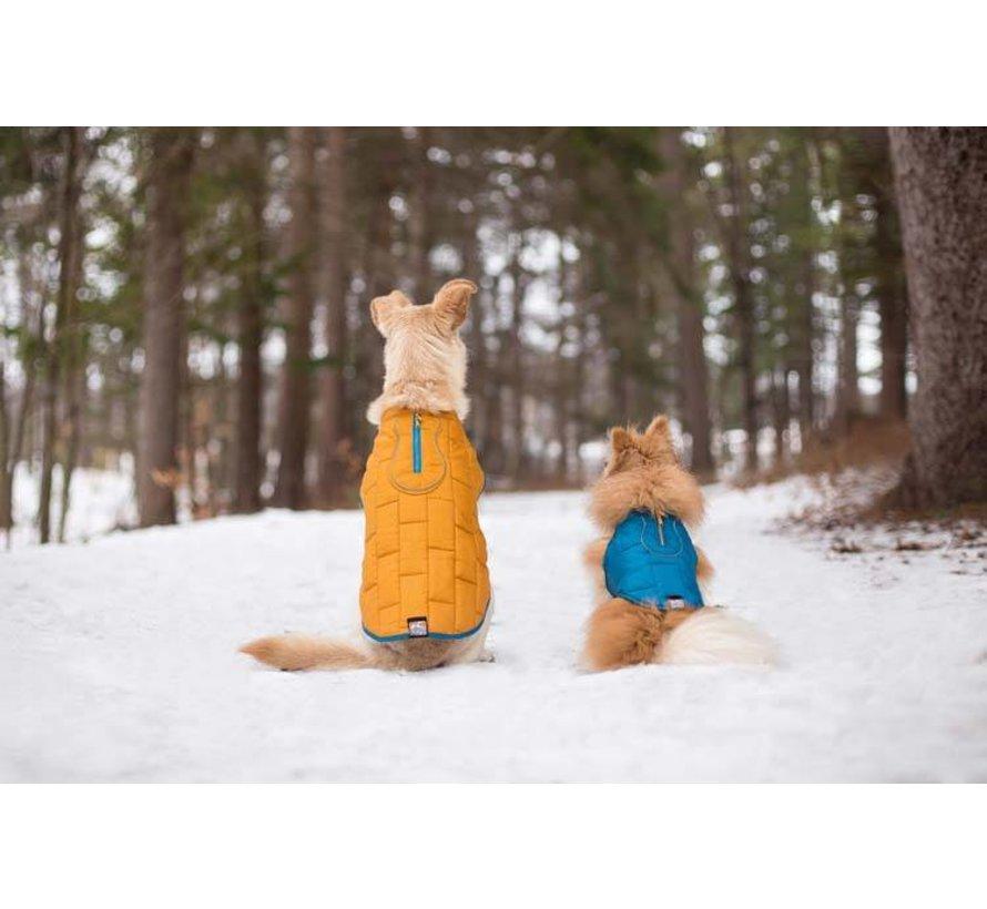 Dog Coat Jacket Loft Blue / Orange