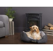 Scruffs Dog Bed Windsor Grey