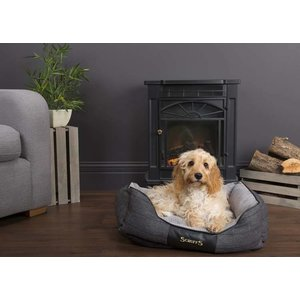 Scruffs Dog Bed Windsor Grey