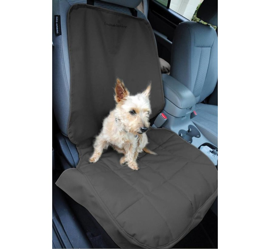 Dog Blanket for the front seat Black