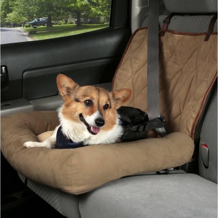 Honden Autostoel Car Cuddler Bruin
