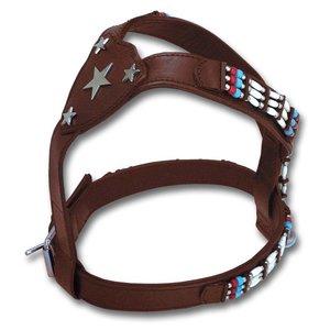 Doxtasy Dog Harness Cheyenne Star in the Sky Brown