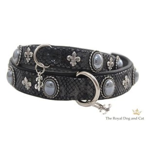 The Royal Cat and Dog Dog Collar Bonaparte Black