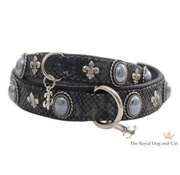 The Royal Cat and Dog Dog Collar Bonaparte Black