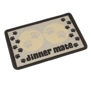 Pet Rebellion Voerbakmat Dinner Mate Creme