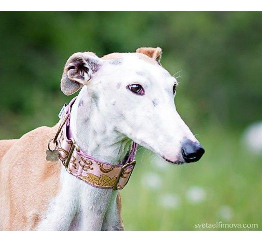 Martingale Dog Collar Pink