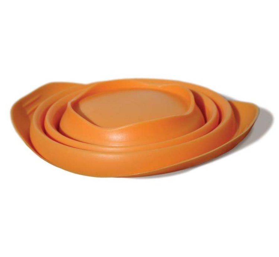 Inklapbare Drinkbak Collaps-a-Bowl Oranje