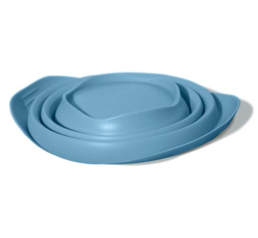 Inklapbare Drinkbak Collaps-a-Bowl Blauw