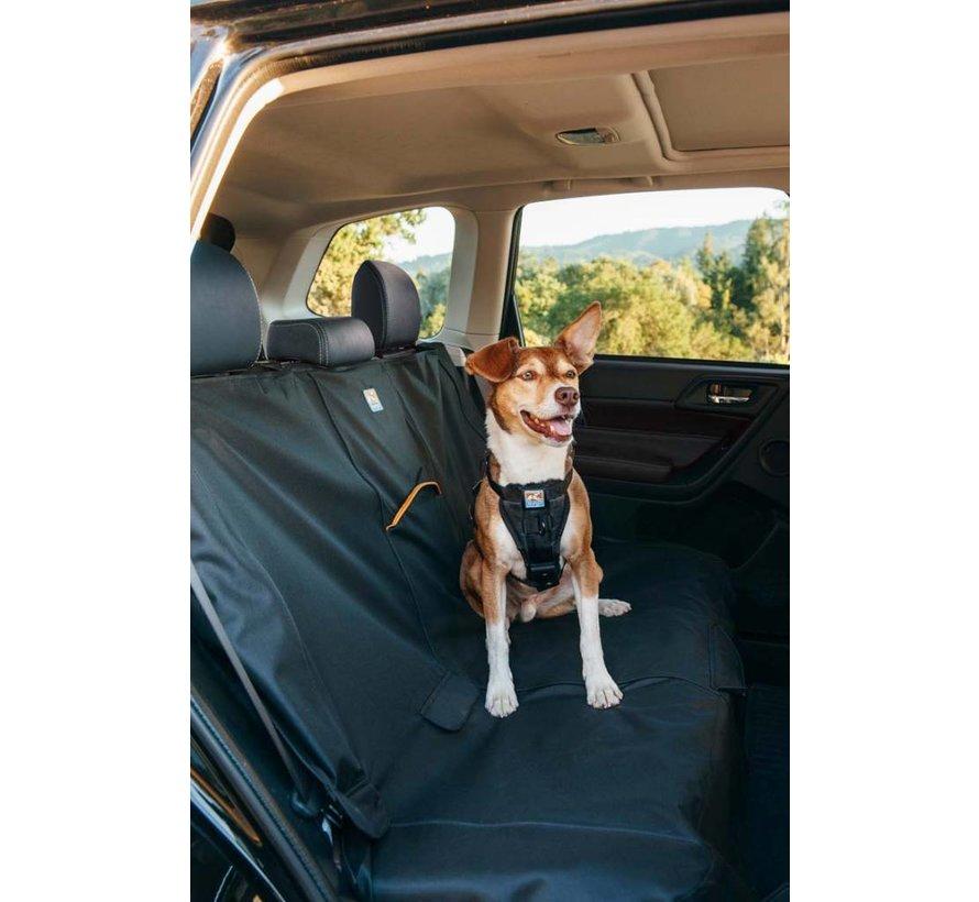 Dog blanket for the back seat Black