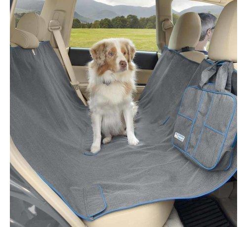 Kurgo Hondendeken voor de achterbank Hammock Grey