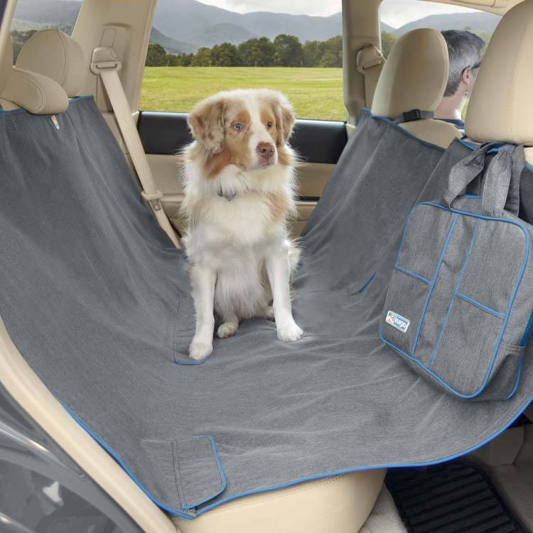 Hondendeken voor de achterbank Hammock Grey