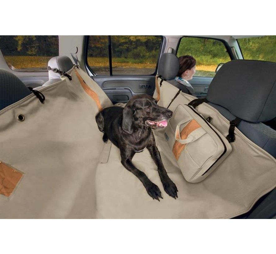 Dog blanket for the back seat Hammock Hampton Sand