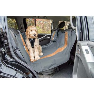 Kurgo Dog blanket for the back seat Hammock Charcoal