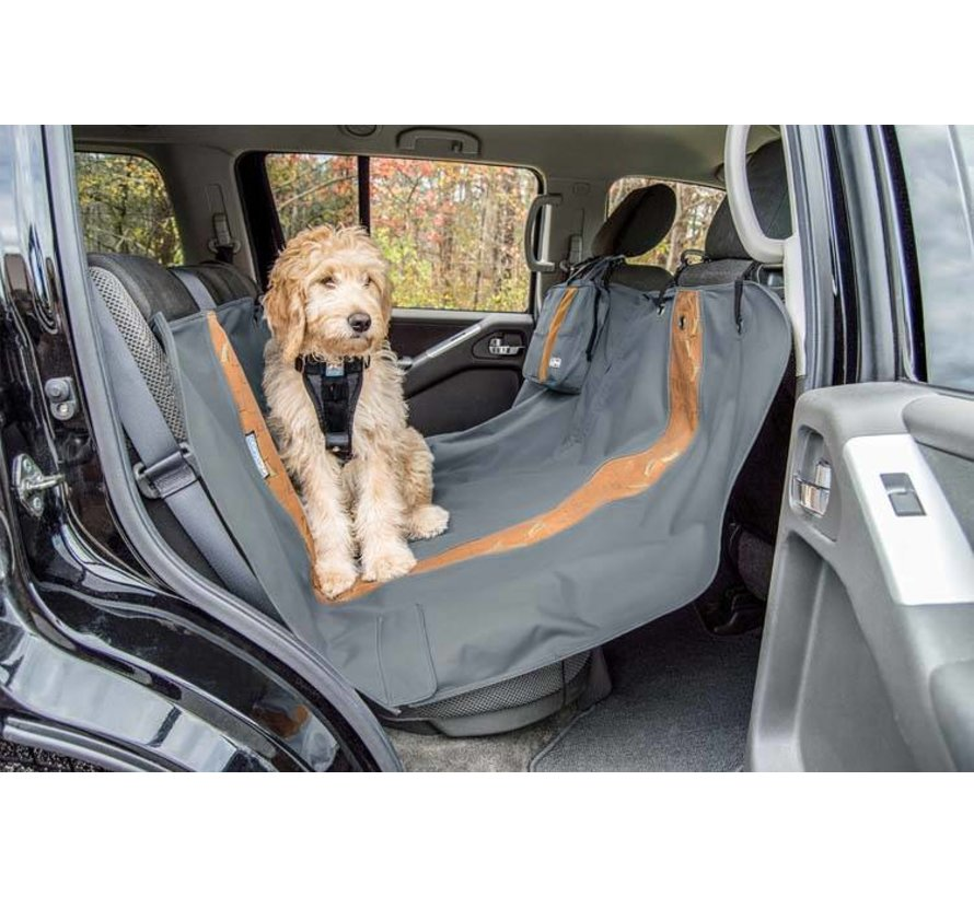 Dog blanket for the back seat Hammock Charcoal