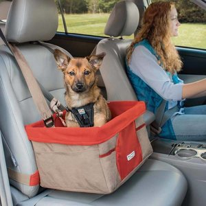 Kurgo Dog Car Seat Brown
