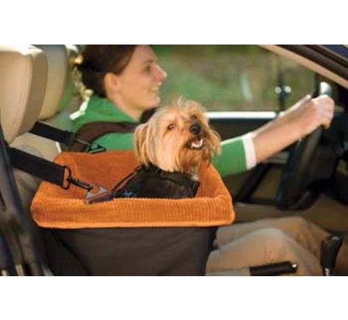 Kurgo Honden Autostoel Oranje