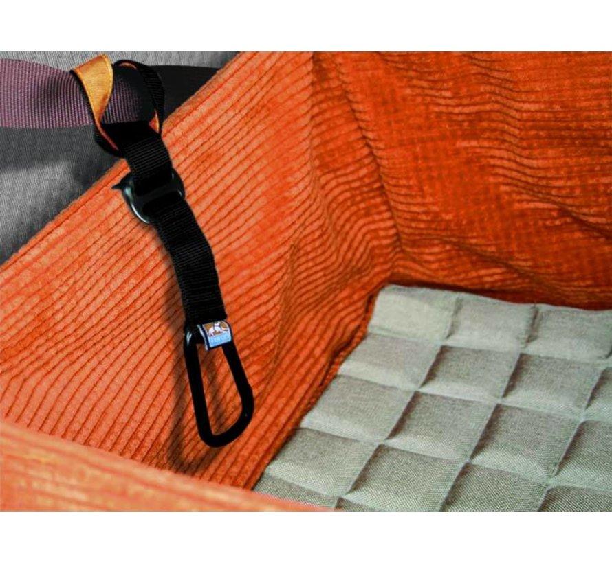 Dog Car Seat Orange