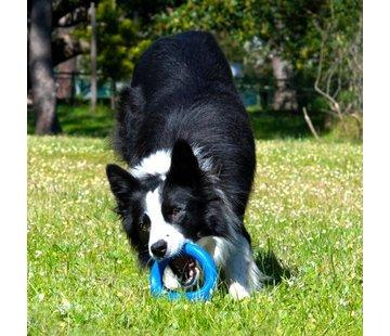 Rogz Dog Toy Pop Upz Blue